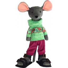 Набор для шитья мягкой игрушки ZooSapiens М3036 Серый Мышонок