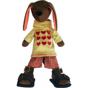 Набор для шитья мягкой игрушки ZooSapiens М3038 Влюбленный Барбос