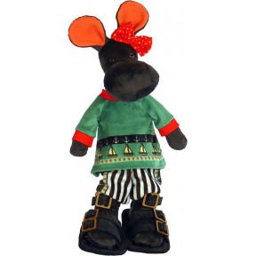 Набор для шитья мягкой игрушки ZooSapiens М3041 Бегемотик Лимпопотик