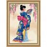 Набор для вышивания Dimensions 06953 Elegant Geisha фото