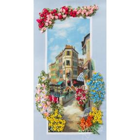 Набор для вышивания лентами Марічка НЛ-3064 Портофино фото