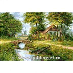 Набор для вышивания гобелен Goblenset G1096 Голландское лето