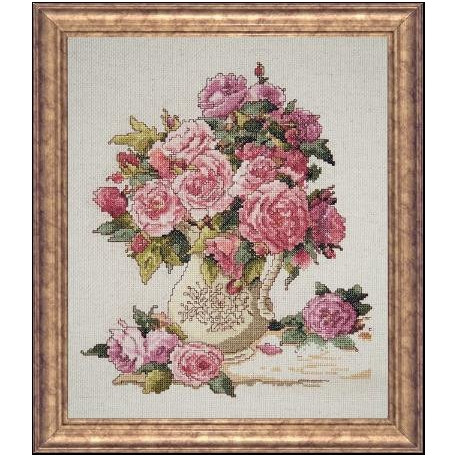 Набор для вышивания Design Works 2724 China Roses фото