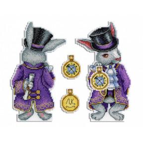 Набор для вышивки крестом МП Студия Р-347 Чудесный кролик