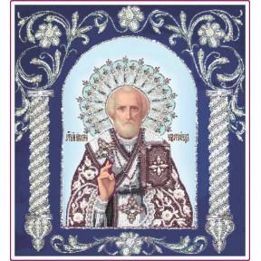 Набор для вышивания бисером Изящное Рукоделие БП-127-1 Святитель Николай