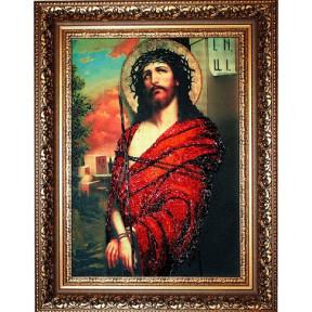 Набор для вышивания бисером Изящное Рукоделие БП-113 Иисус в терновом венке