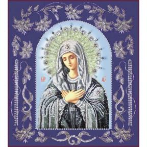 Набор для вышивания бисером Изящное Рукоделие БП-115 Богородица Умиление в рамке