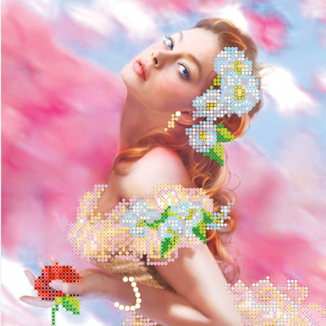 Схема для вышивания бисером Абрис Арт АС-005 Грация фото