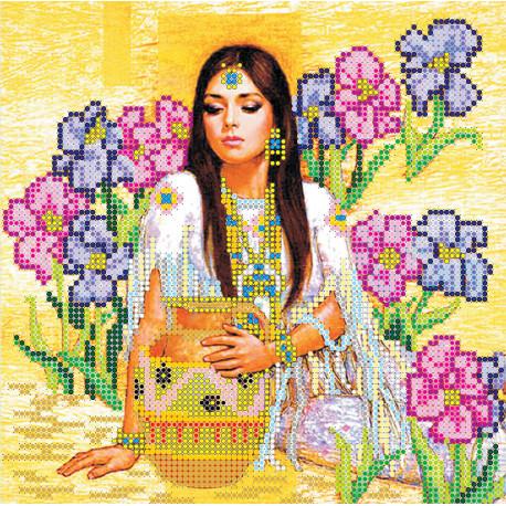 Схема для вышивания бисером Абрис Арт АС-021 У родника фото