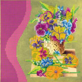 Схема для вышивания бисером Абрис Арт АС-032 Цветочный аромат