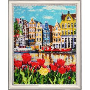 Набор для вышивания бисером Butterfly 384 Амстердам фото