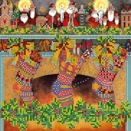 Схема для вышивания Абрис Арт АС-075 Рождественские сувениры