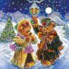 Схема для вышивания Абрис Арт АС-074 Искры волшебной зимы фото