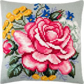 Набор для вышивки подушки Чарівниця Z-73 Роза фото