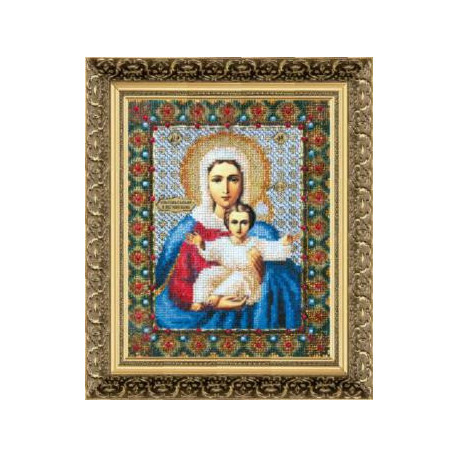 Набор для вышивания Б-1004 Икона Бож.Матери Аз есмь с вами фото