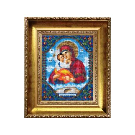 Набор для вышивания бисером Б-1006 Бож. Матерь Почаевская фото
