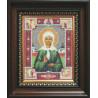 Набор для вышивания бисером Б-1012 Икона Св.Блаженной Мотроны