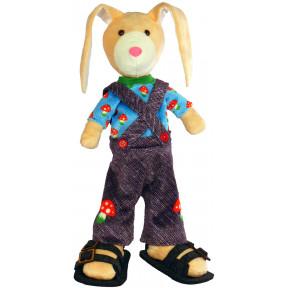 Набор для шитья мягкой игрушки ZooSapiens М3050 Джинсовый Зайка