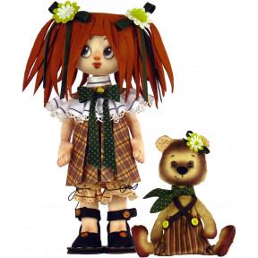Набор для шитья куклы и мягкой игрушки ZooSapiens К1071 Девочка