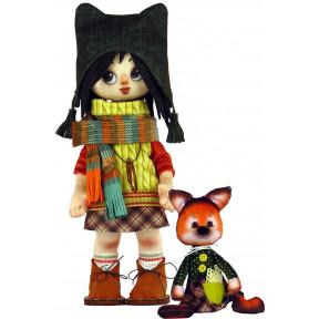 Набор для шитья куклы и мягкой игрушки ZooSapiens К1072 Девочка