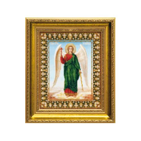 Набор для вышивания бисером Б-1017 Икона Ангела Хранителя фото