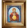 Набор для вышивания бисером Б-1074 Икона Знамение фото