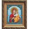 Набор для вышивания бисером Б-1022 Икона Бож.Матери Смоленская