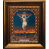 Набор для вышивания бисером Б-1088 Икона Распятие Иисуса Христа