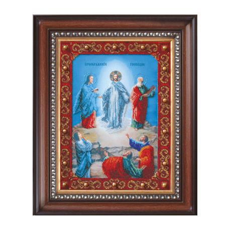 Набор для вышивания бисером Б-1063 Икона Преображение Господне