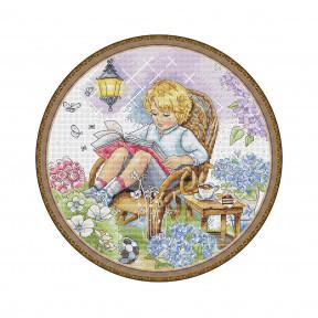Набор для вышивания крестом Мережка Сказочный сад К-18