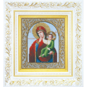 Набор для вышивания бисером Б-1045 Божьей Матери Утешение