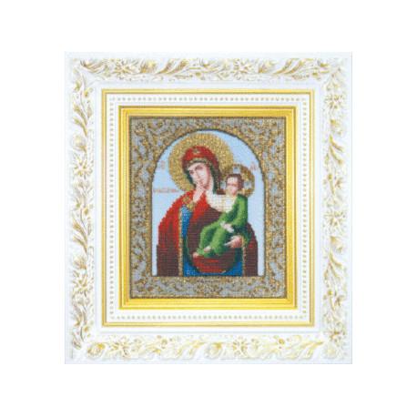 Набор для вышивания бисером Б-1045 Божьей Матери Утешение фото