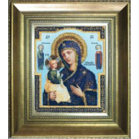 Набор для вышивания бисером Б-1075 Икона Божьей Матери Иерусалимской