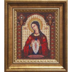 Набор для вышивания бисером Б-1096 Икона Помощница в родах