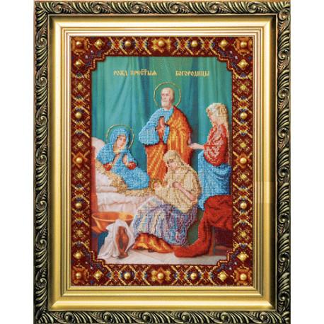 Набор для вышивания Б-1052 Рождество Пресвятой Богородицы фото