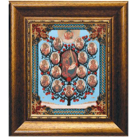 Набор для вышивания бисером Б-1086 Древо Пресвятой Богородицы
