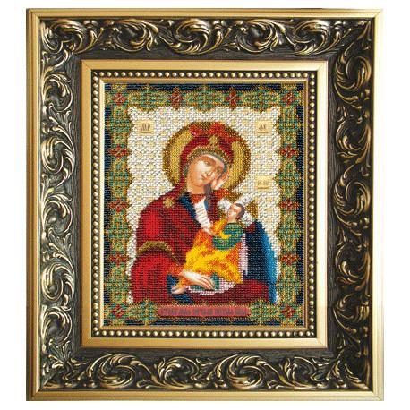 Набор для вышивания бисером Б-1109 Икона Божьей Матери Утоли