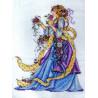 Набор для вышивания Design Works 2493 Rose Lady фото