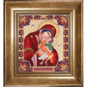 Набор для вышивания Б-1111 Икона Божьей Матери Взыграние