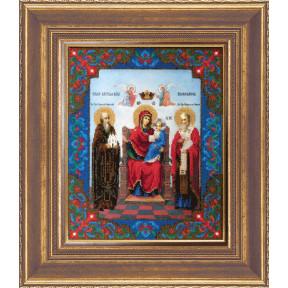 Набор для вышивания Б-1097 Икона Божьей Матери Экономисса
