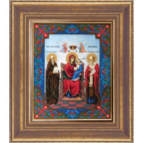 Набор для вышивания Б-1097 Икона Божьей Матери Экономисса фото