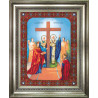 Набор для вышивания Б-1084 Икона Воздвижение Креста Господня