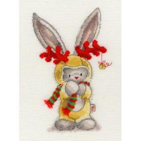 Набор для вышивания крестом Bothy Threads XBB7 Bebunni Rudolf