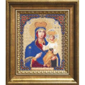 Набор для вышивания Б-1127 Икона Прсв.Богородицы Озерянская