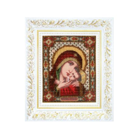 """Набор для вышивания Б-1108 Икона Божьей Матери """"Касперовская"""