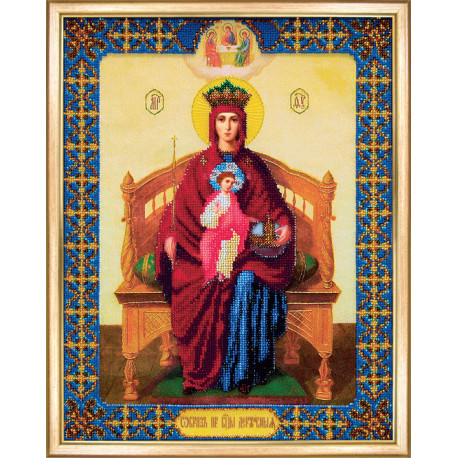 Набор для вышивания Б-1067 Икона Прсв. Богородицы Державная фото