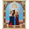Набор для вышивания Б-1101 Вера, Надежда, Любовь и мать София