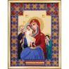 Набор для вышивания Б-1132 Икона Божьей Матери Трех радостей