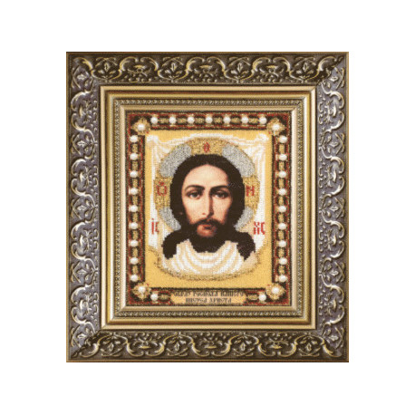 Набор для вышивания бисером Б-1155 Образ Господа Нашего Иисуса