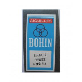 Набор бисерных игл Beading №12 (25шт)  Bohin (Франция) 10124